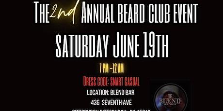 2nd Annual Beard Club Event tickets