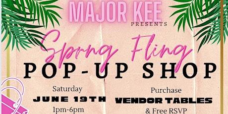 Spring Fling Pop-up Shop tickets