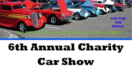 6th Annual Charity Car Show tickets