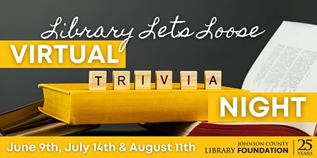 Library Lets Loose Virtual Trivia Night tickets