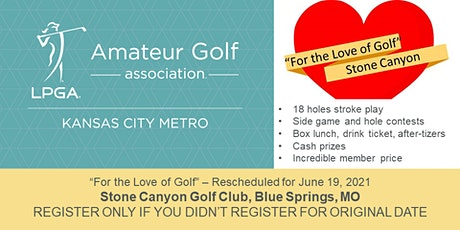 For the Love of Golf - Registrations after 5/21/21 tickets