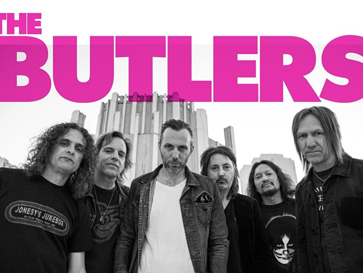 The Butlers - Vintage 70's Rock N Roll (Indoor Show) image