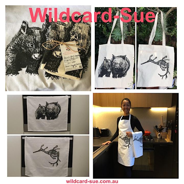 Wildcard-Sue's Sydney Sea Superstars Art Exhibition & Pop-up Market image