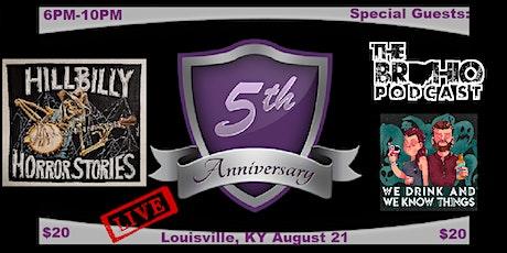 Hillbilly Horror Stories 5 yr Anniversary Show tickets