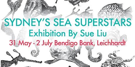 Wildcard-Sue's Sydney Sea Superstars Art Exhibition & Pop-up Market tickets