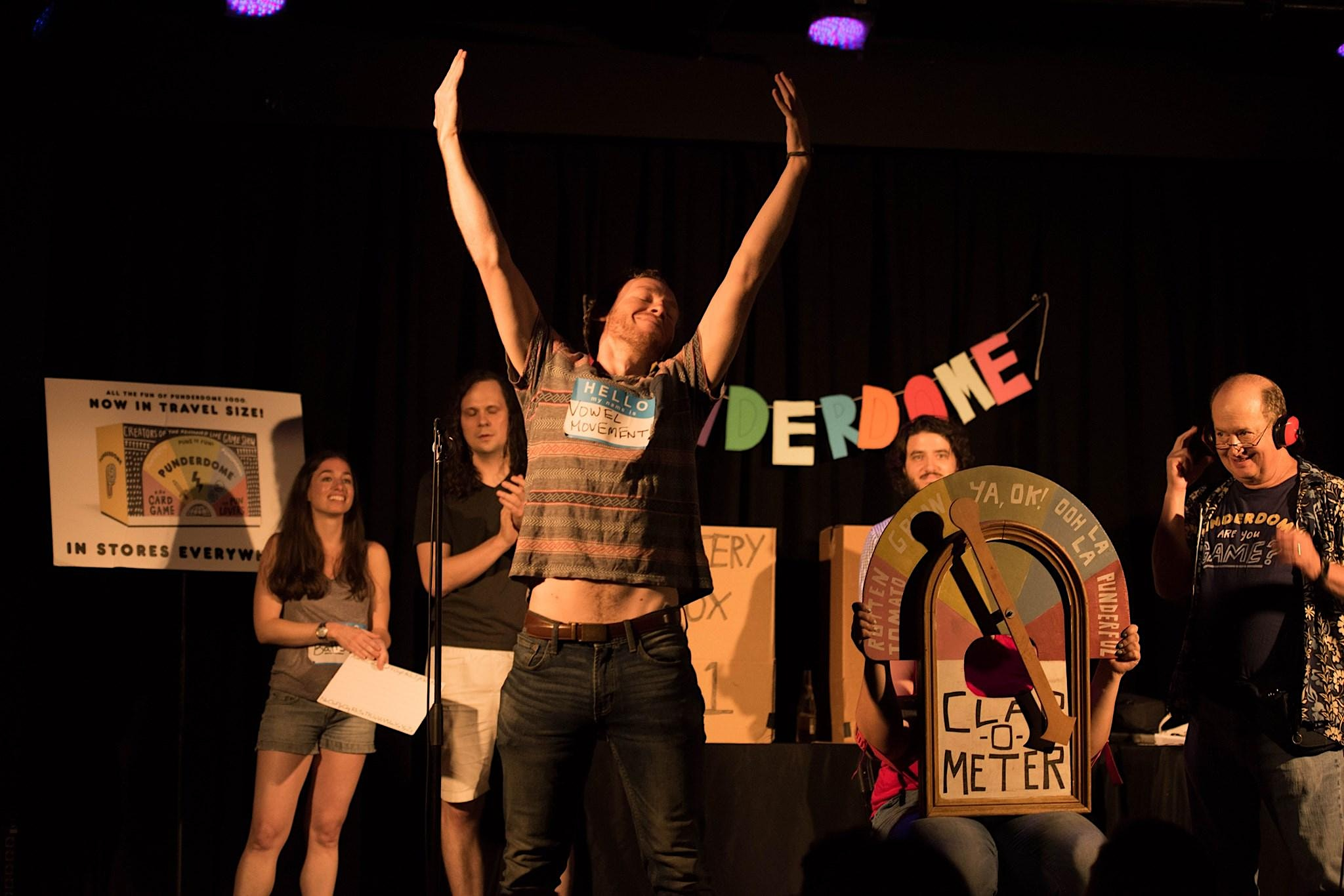 PUNDERDOME®: NYC's (and the Globe's) Comedy PUN Show! 7/7