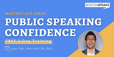 Public Speaking Confidence: 3-Day Training Series (Day 3) tickets