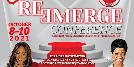 ReEmerge Conference - Living for His Purpose Ministry tickets