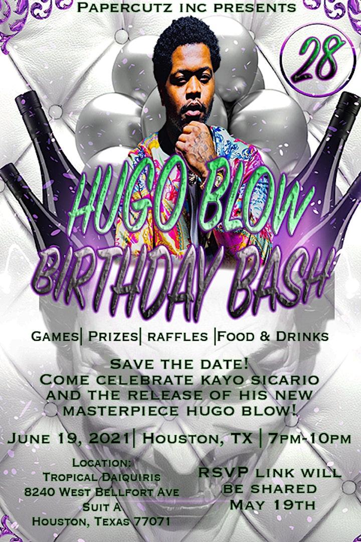 HUGO BLOW Birthday Bash image