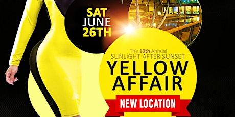 The 10th Annual YELLOW AFFAIR tickets