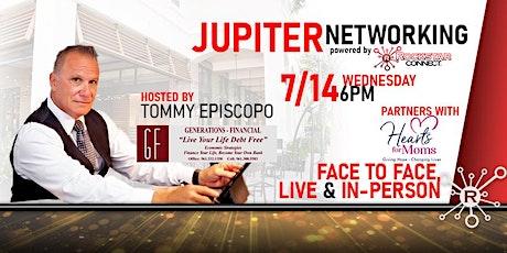 Free  Jupiter Rockstar Connect Networking Event (July, Florida) billets
