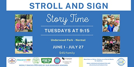Bloomington/Normal | Stroll + Sign tickets