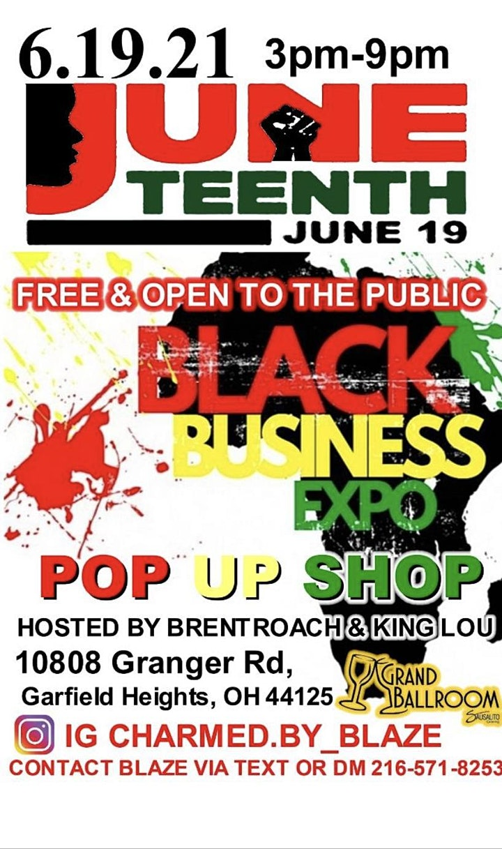 Juneteenth Black Business Expo image