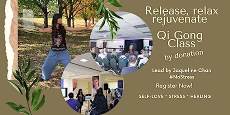 Sundays 10AM Invigorating Qi Gong for Healing tickets