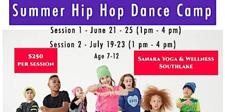 Summer Hip Hop Dance Camp Session 2 tickets