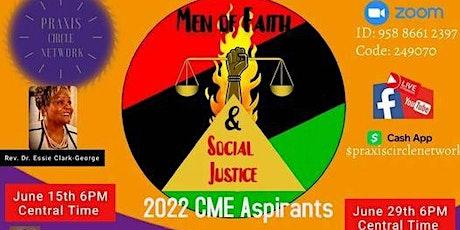 June Webinar (6/15 & 6/29):  Men of Faith & Social Justice tickets