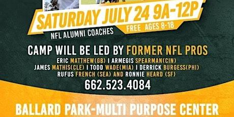 Eric Matthews NFL Youth Camp tickets