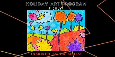 Holiday Art Program (Watercolour Truffula Trees-Dr Seuss) tickets