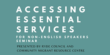 Accessing Essential Services for Non-English Speak tickets
