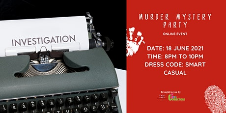 Murder Mystery Party (50% OFF) tickets