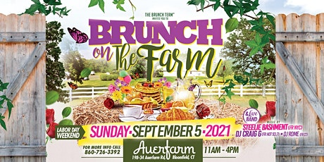 BRUNCH on The FARM CT 2021 tickets
