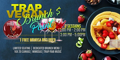 Trap Vegan Brunch and Paint tickets