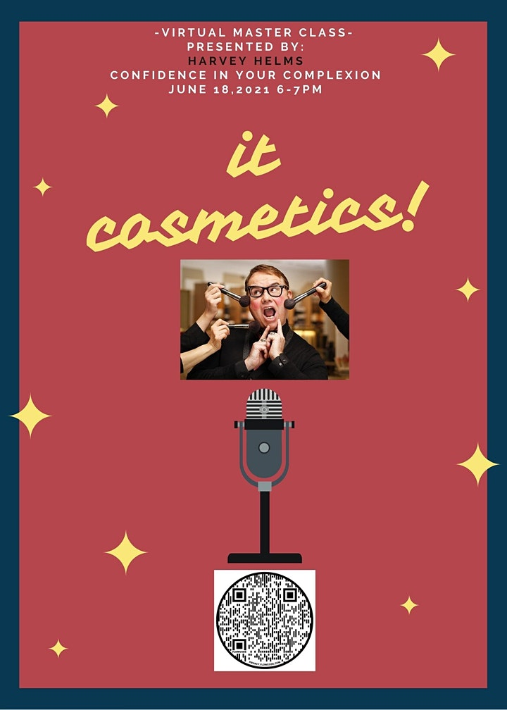 """IT Cosmetics VMC """"CONFIDENCE IN YOUR COMPLEXION -Harvey Helms"""" image"""