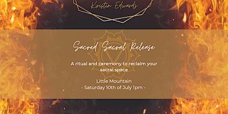 Sacred Sacral Release tickets