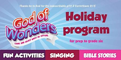 Kids Holiday Program @ Nunawading tickets