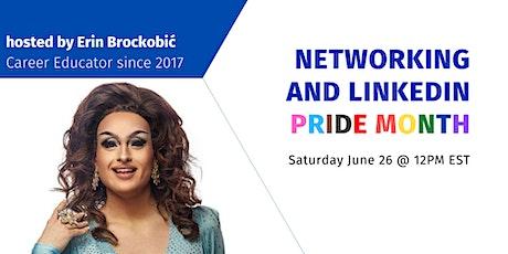 Networking and LinkedIn - Queer Career Workshops PRIDE 2021 tickets