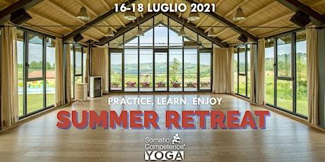 Summer Retreat | Somatic Competence Yoga biglietti