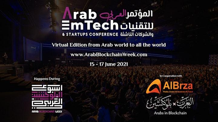 Arab EmTech and Startups Conference 2021 image