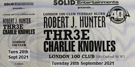 THR3E at 100 Club London 28th September 2021 tickets