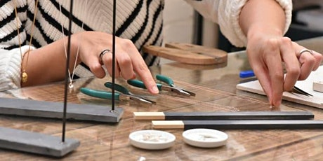Sterling Silver Necklace Workshop with Two Jewellers tickets