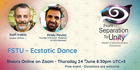 (From Separation To Unity)FSTU  Ecstatic Dance tickets
