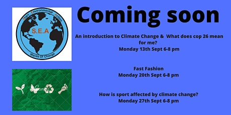 The S.E.A project - Start Environmental Action, making waves! tickets