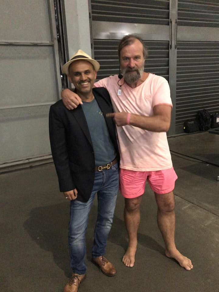 EXPERIENCE  WIM HOF METHOD WEEKEND MELBOURNE 17-19th JULY with SAM JAVED image