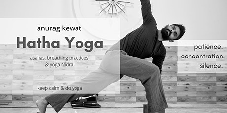 Free Hatha Yoga session for beginners tickets