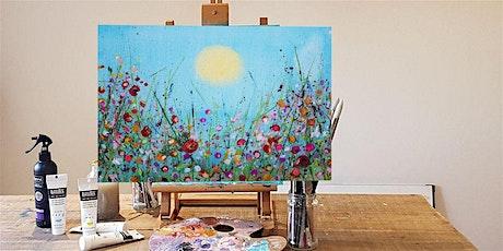'Spring Meadow' Painting  workshop & Afternoon Tea @Hatfield tickets