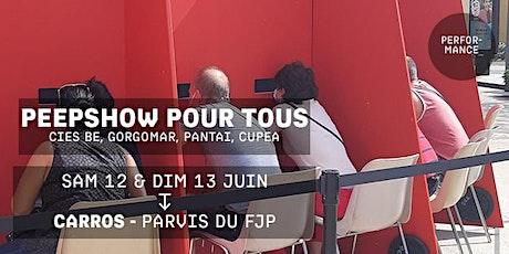PEEP SHOW POUR TOUS - Les Curieux billets