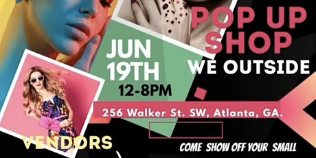 June 19th Pop Up Shop & Day Party tickets