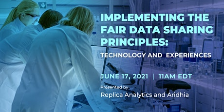 Implementing the FAIR Data Sharing Principles: Technology and Experiences tickets