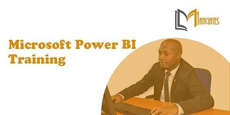 Microsoft Power BI 2 Days Virtual Live Training in Monterrey tickets