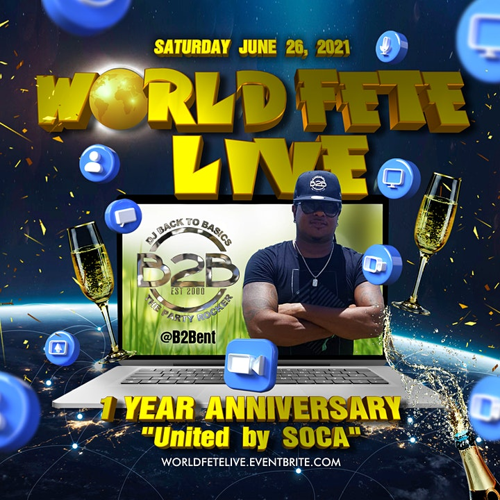 World Fete Live - 1 Year Anniversary - United By Soca image