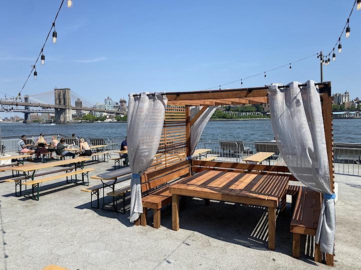 SATURDAYS: BRUNCH & SUNSETS @ WATERMARK BEACH - PIER 15 NYC image
