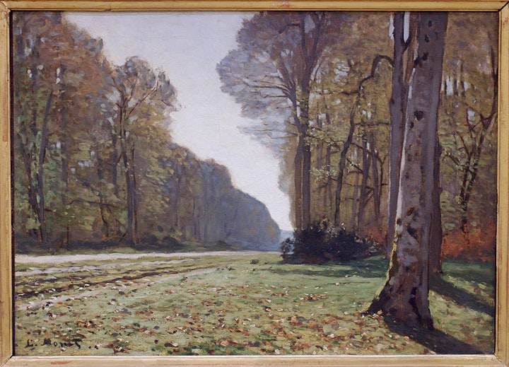 Paint MONET - 'Le Pavé de Chailly' - Facebook LIVE image