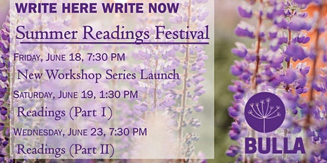 Write Here, Write Now! Summer Readings Festival, Part II tickets