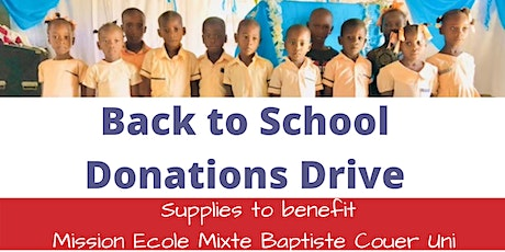 Back to School Donations tickets