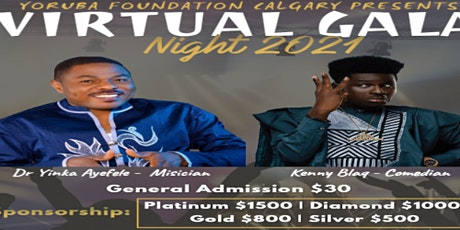 Virtual Gala Night 2021 tickets