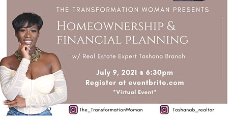 The Transformation Woman: Homeownership and Financial Planning tickets